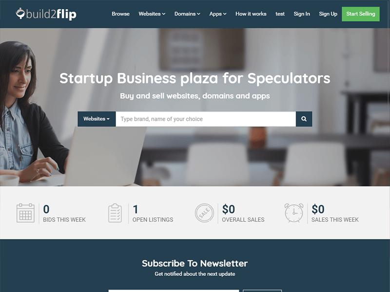 Build2Flip - Flippa Clone