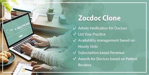 Zocdoc Clone, Zocdoc Clone Script, PHP, Open Source, Doctor